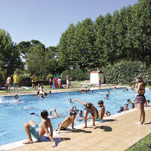 Piscina de English Summer Poblet