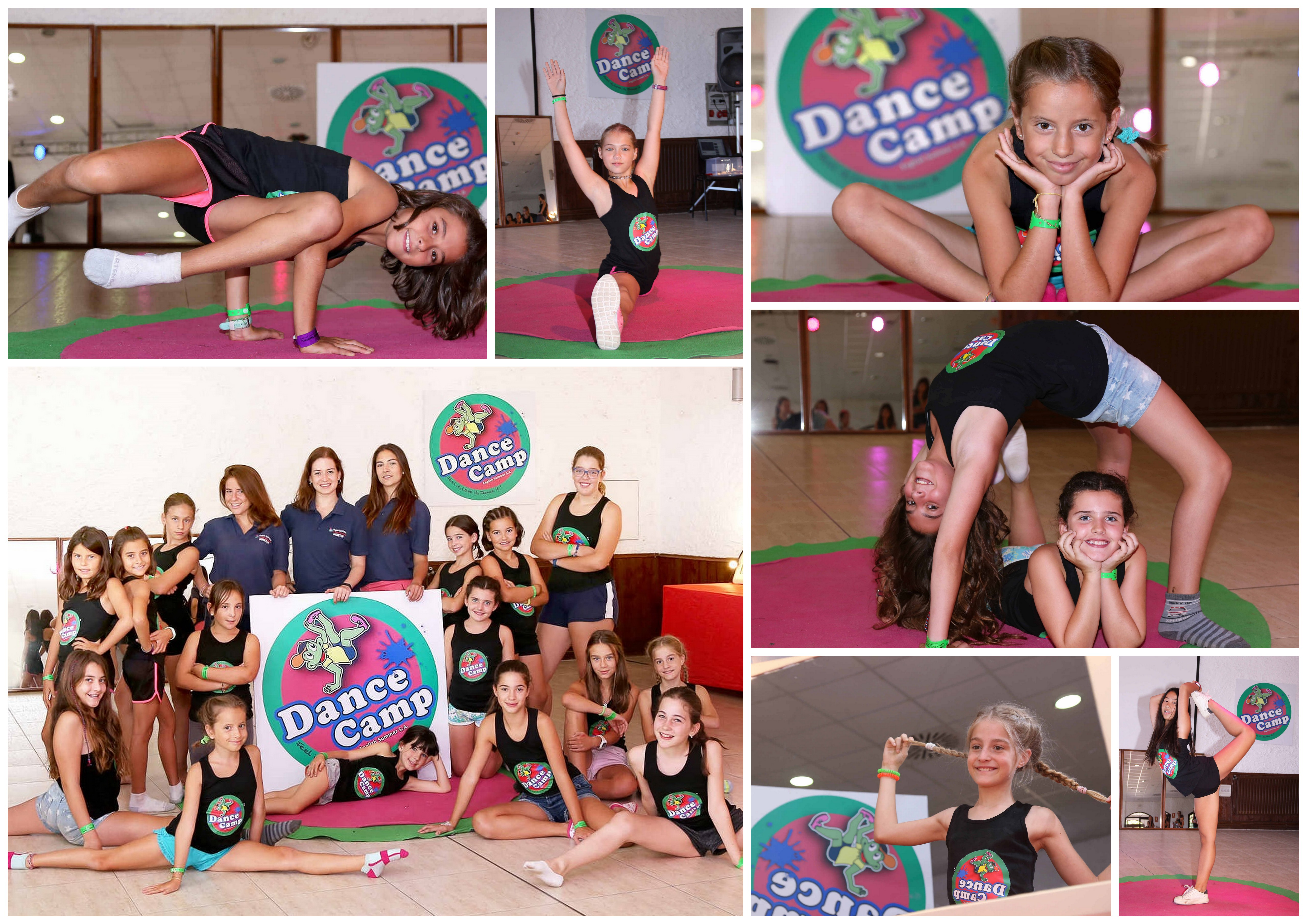 Dance Camp Collage