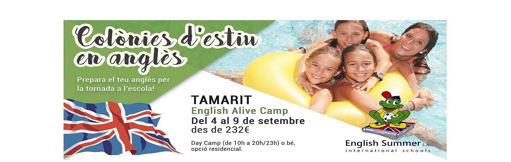 English alive camp tamarit   fb